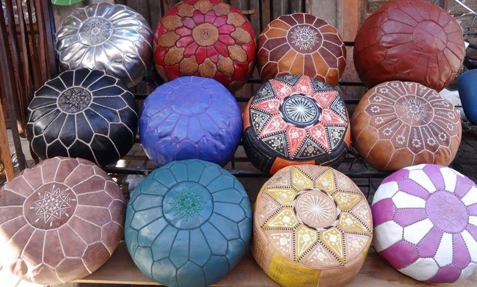 Artesanato típico de Marrocos.