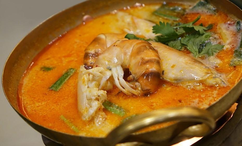 Creme de marisco, uma sopa ideal para receber convidados em casa e aveludar-lhes o palato.
