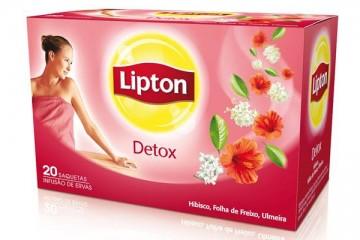 Novo Lipton Detox chega ao mercado