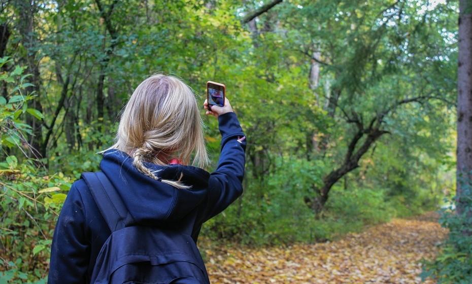 Mande-lhe fotos de si ou de coisas do dia-a-dia para se lembrar de si.