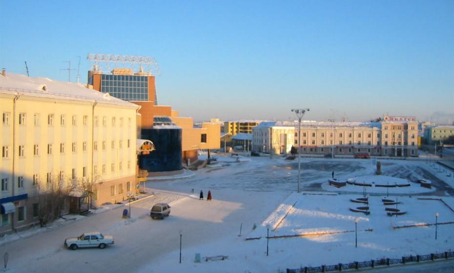 Yakutsk, Rússia, é uma das cidades mais frias do mundo. No inverno, as temperaturas balançam entre os -40ºC e os -25ºC. Yakutsk tem um clima subártico extremo.