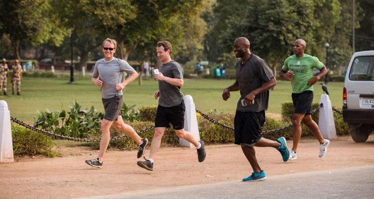Mark Zuckerberg irá correr 588 quilómetros em 2016