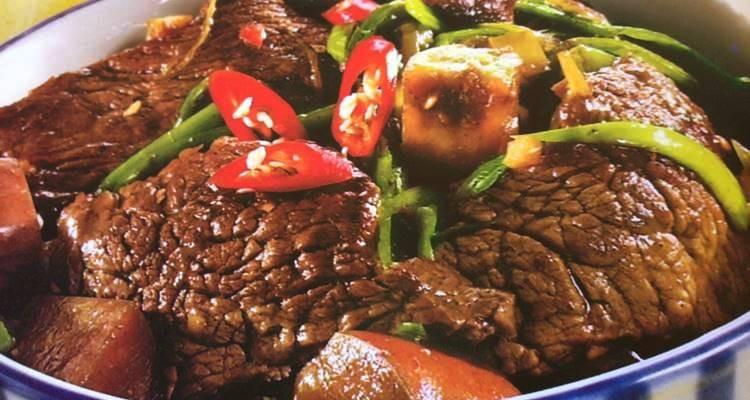 Carne de vaca à moda de Chechuan
