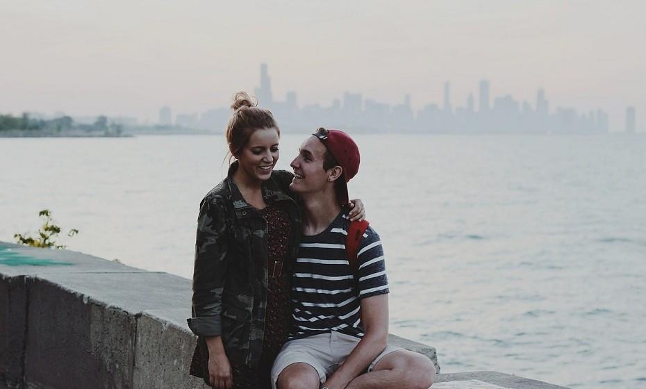 Para além de namorado, é o seu melhor amigo. É com ele que desabafa nos momentos menos bons e ele faz questão de estar 'lá' sempre que precisa.