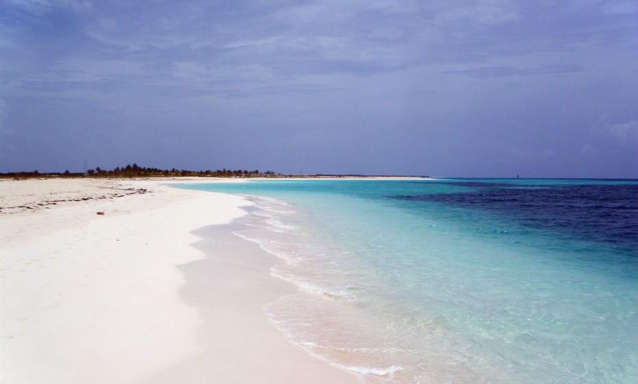 3. Praia Paraíso no Cayo Largo, em Cuba.