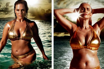 Foto Facebook: Ashley Graham e Nicola Griffin