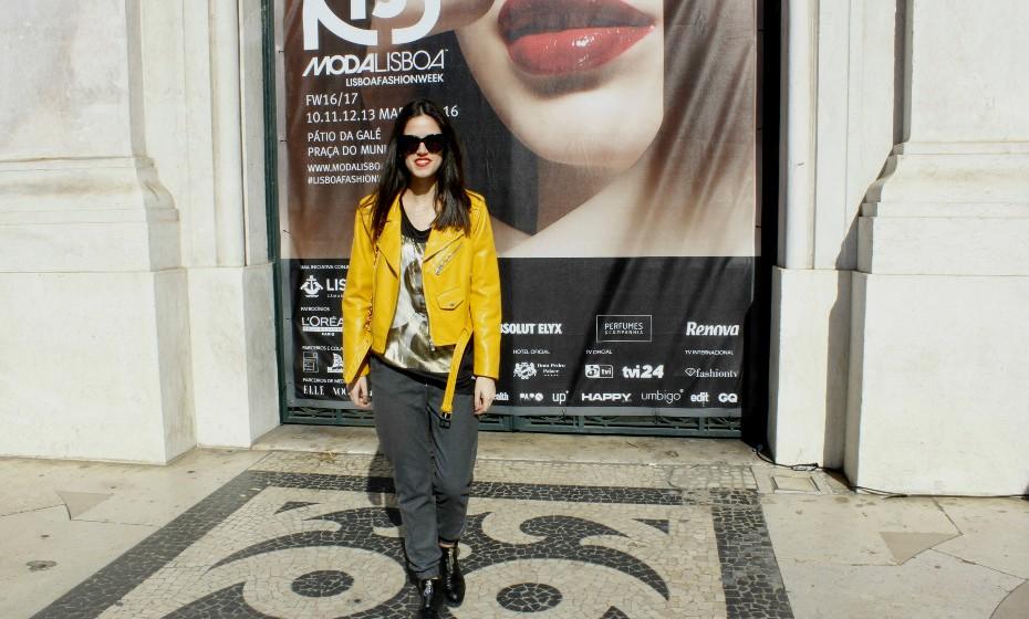 «Gosto de marcar a diferença com pormenores», confessou Rita Ferreira, de 21 anos.