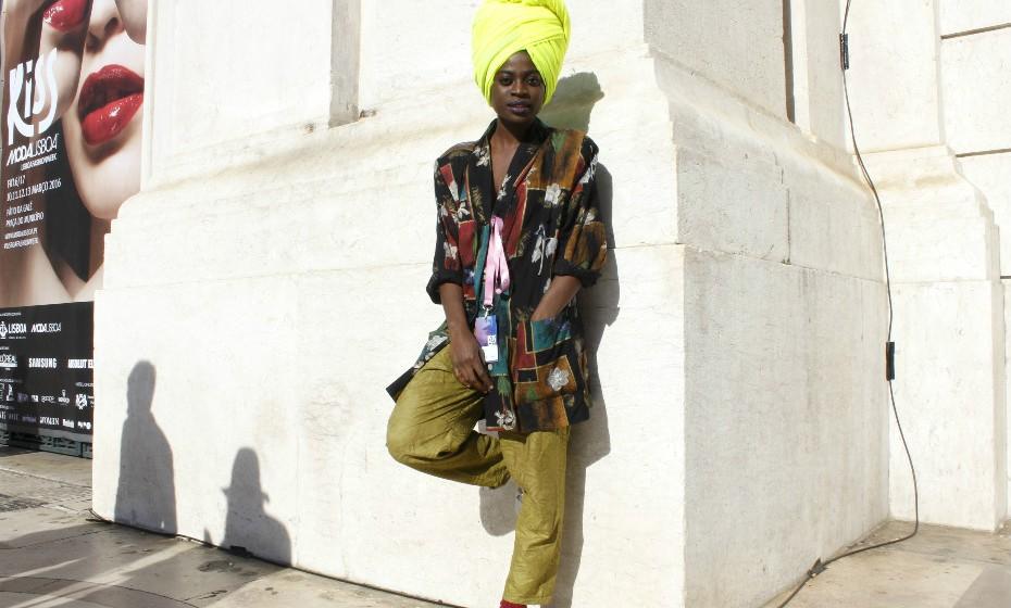 Marisa Fernandes, de 22 anos, diz que tem um look «mais calmo» no dia a dia.