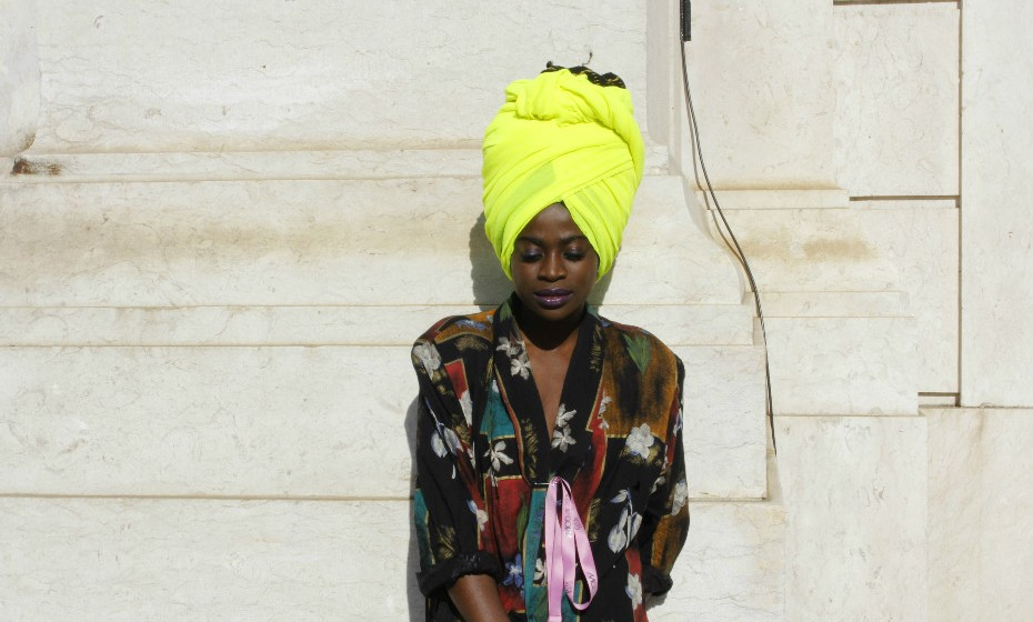 «Gosto de ser extravagante», confessa Marisa Fernandes.