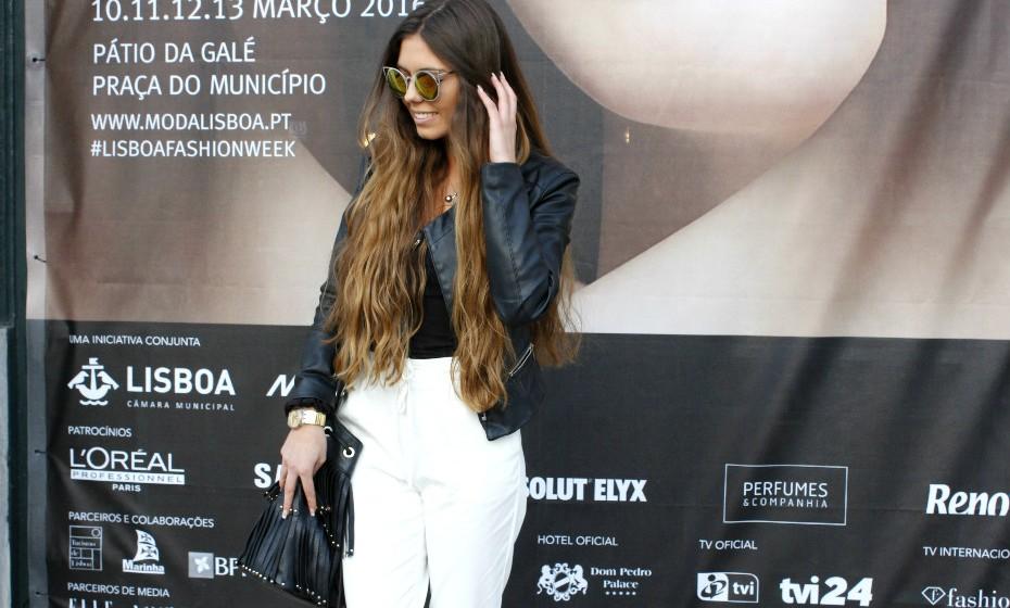 Andreia Oliveira, 24 anos, trabalha na revista Men's Health.