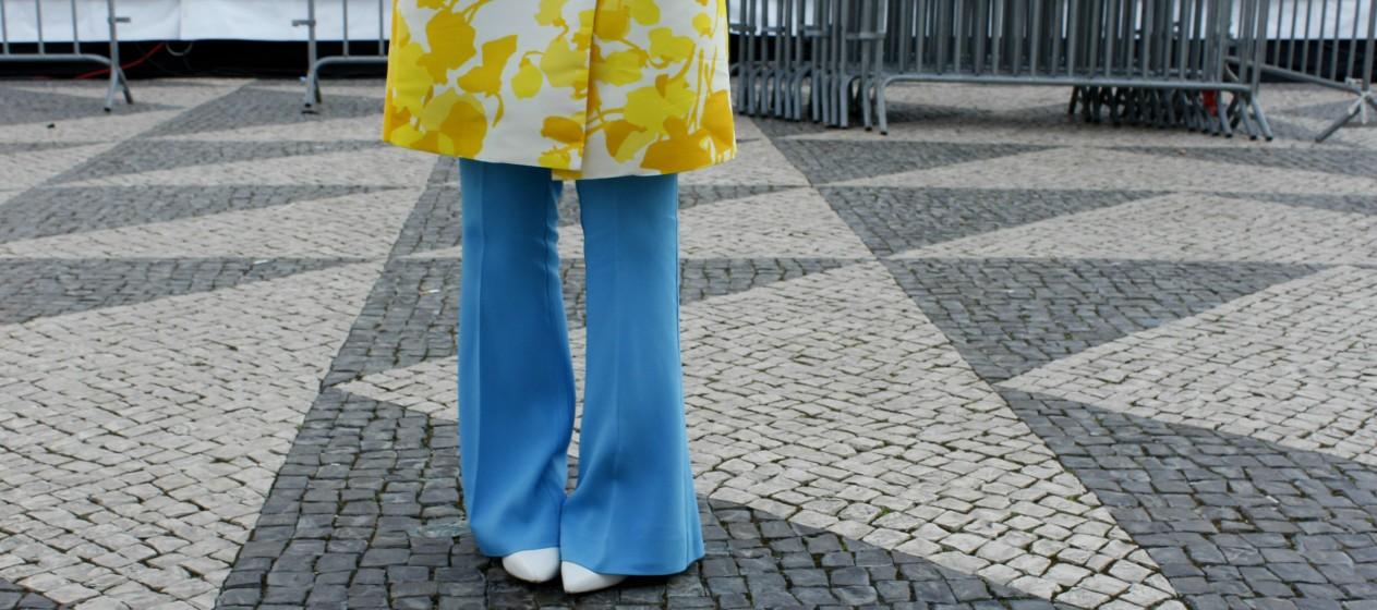 Escolho a roupa consoante o meu mood desse dia», conta Mónica Lafayette.