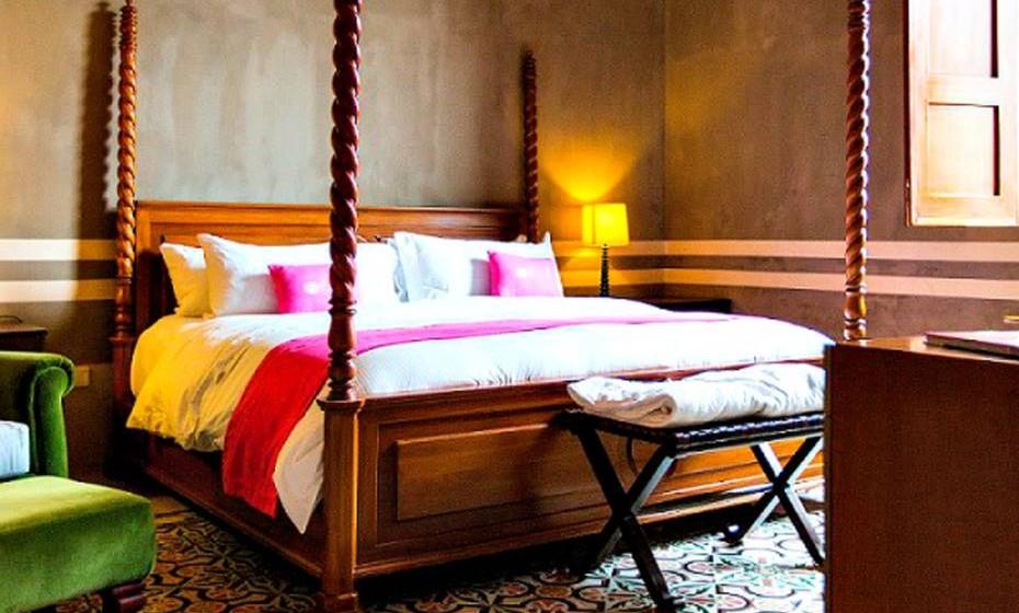 Este boutique hotel conta com 17 quartos, piscina exterior e spa e tem tudo para uma estadia verdadeiramente doce e relaxante.