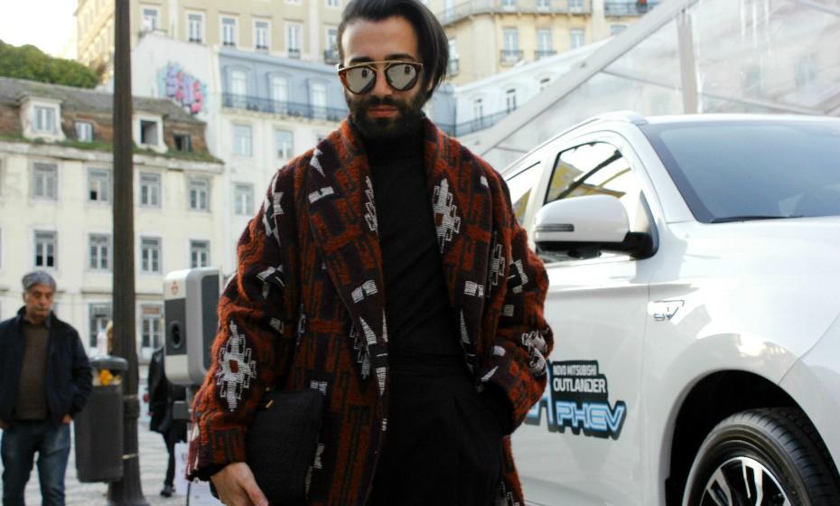 Ricardo Lucas, 31 anos, não demorou muito a escolher a roupa ideal para o evento.