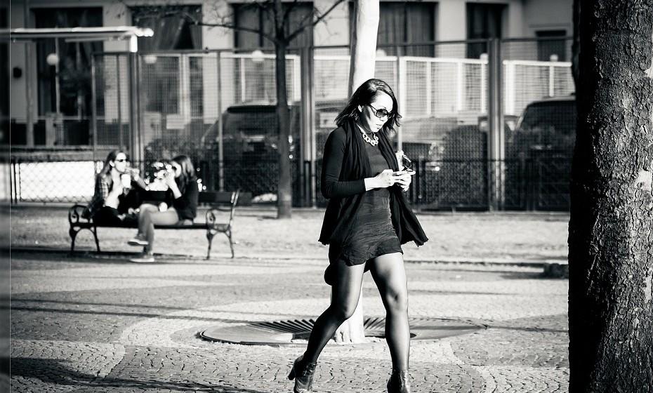 «Eu nunca olho para outras mulheres na rua».
