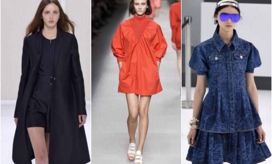 Cores compactas – Chanel, Fendi e Hermès.