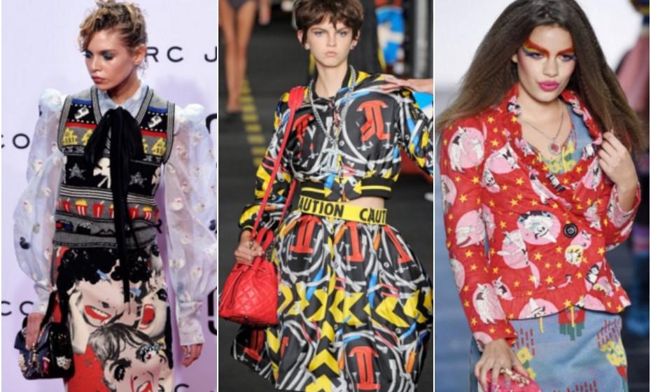 Pop – Marc Jacobs, Moschino e Betsey Johnson.
