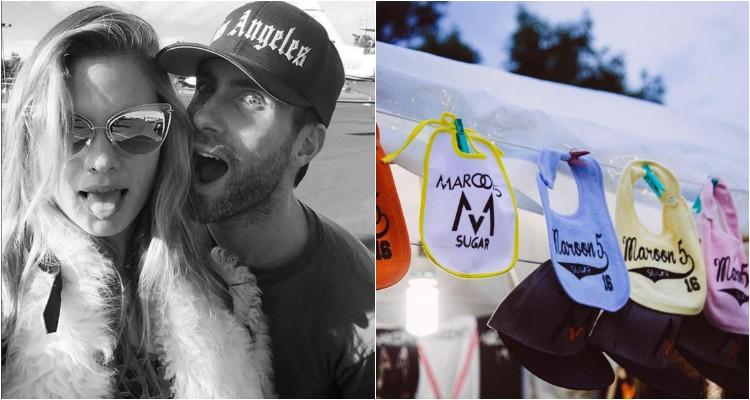 Adam Levine e Behati Prinsloo vão ser pais