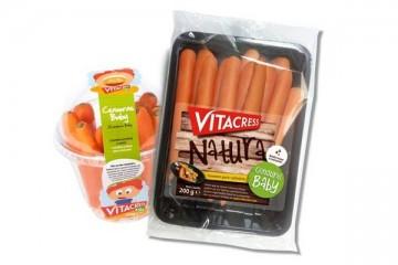 Cenouras baby Vitacress chegam ao mercado em nova embalagem