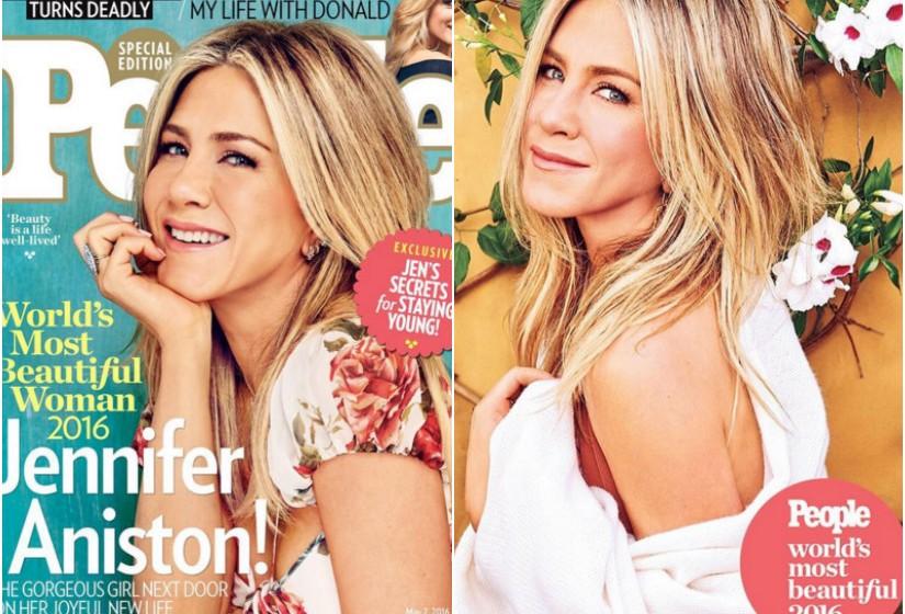 Jennifer Aniston é a vencedora de 2016. Conheça as vencedoras de anos anteriores.