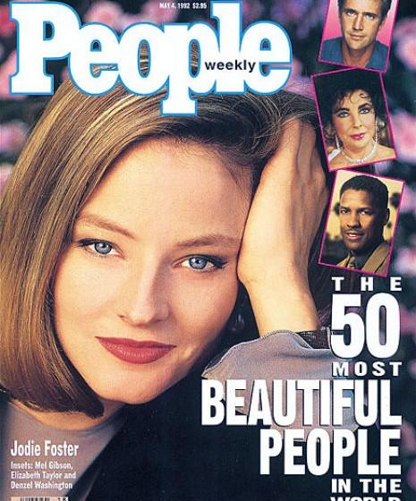 Jodie Foster, 1992.