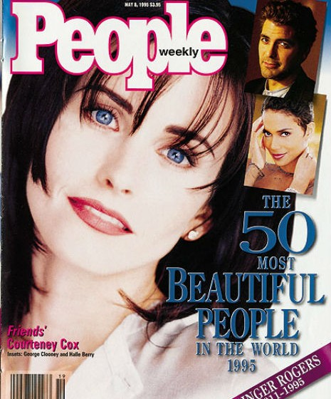 Courtney Cox. 1995.