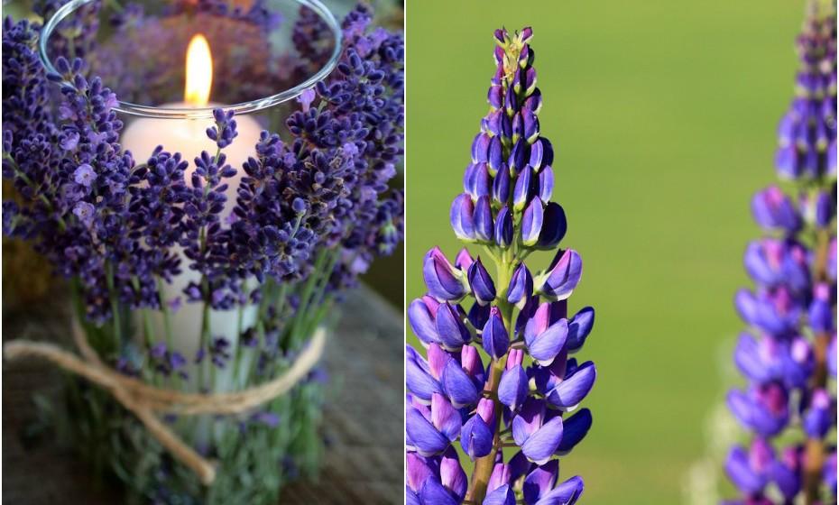 E se lhe dissermos que pode colocar flores fora do vaso e que vai ficar lindo? Acredite. Escolha uma vela perfumada num copo bem alto e coloque flores em redor do mesmo. Para prender, escolha um fio de ráfia ou algo do género para enfatizar o estilo rústico.