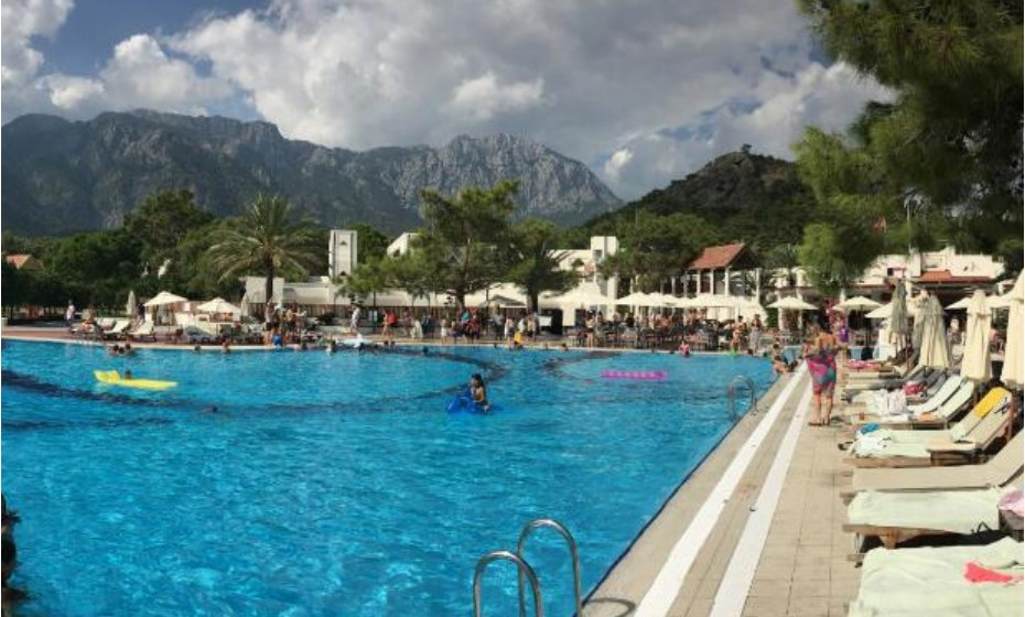 9. Club Med Palmiye - Kemer, Turquia.