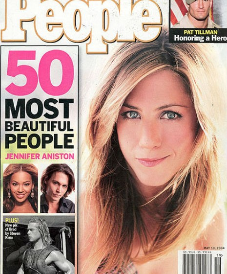 Jennifer Aniston, 2004.