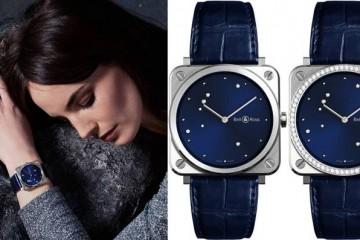 Bell & Ross lança relógio feminino com diamantes incrustados