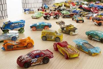 800 carrinhos Hot Wheels em exposição no Campo Pequeno