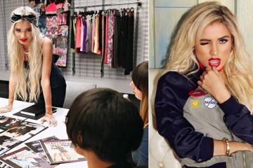 Madonna escolhe Pia Mia para diretora criativa da linha 'Material Girl'