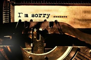 Segundo um estudo, é assim que se pede desculpas