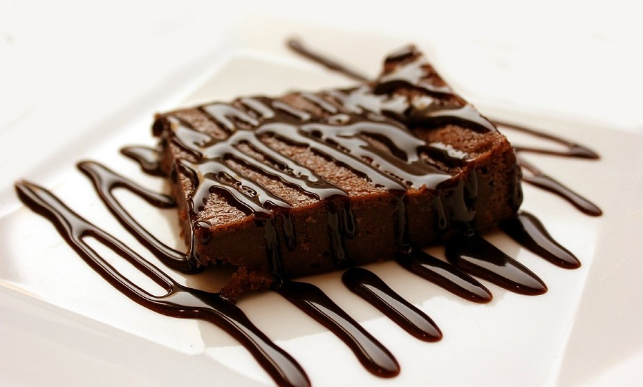 11. Brownies de chocolate