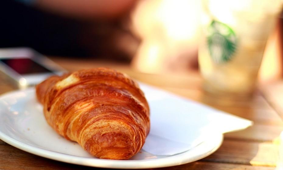 Na verdade, os croissants foram inventados na Áustria.