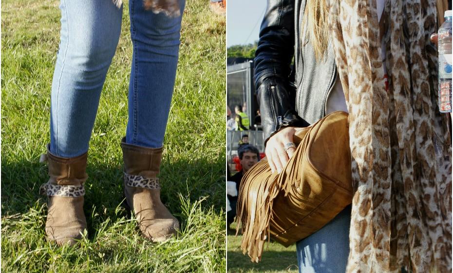 Se há coisa que não pode faltar num look de festival são as botas.