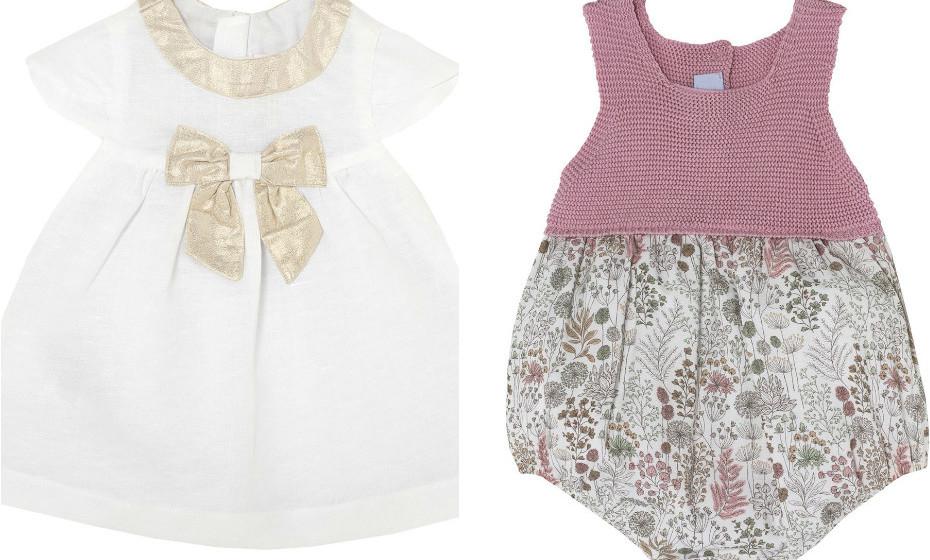 Um macacão florido mimoso ou um vestido em tons beges? O seu bebé vai fazer sucesso com ambas as peças da Chicco.