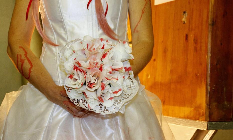 Não há noiva sem bouquet e esta não é exceção.