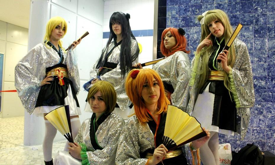 Este grupo de amigas inspirou-se no 'Love Live', um jogo anime.