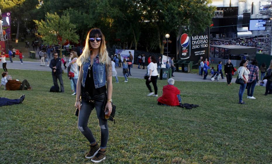 Inês Vargas: «Este é o meu estilo de todos os dias».