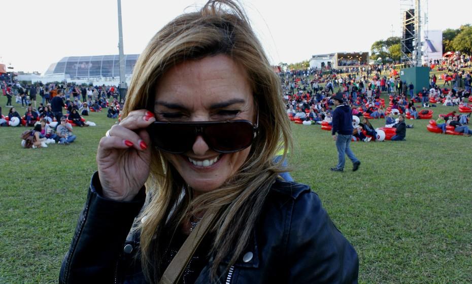 Sandra Cardoso não esconde a sua felicidade por estar a viver esta experiência.