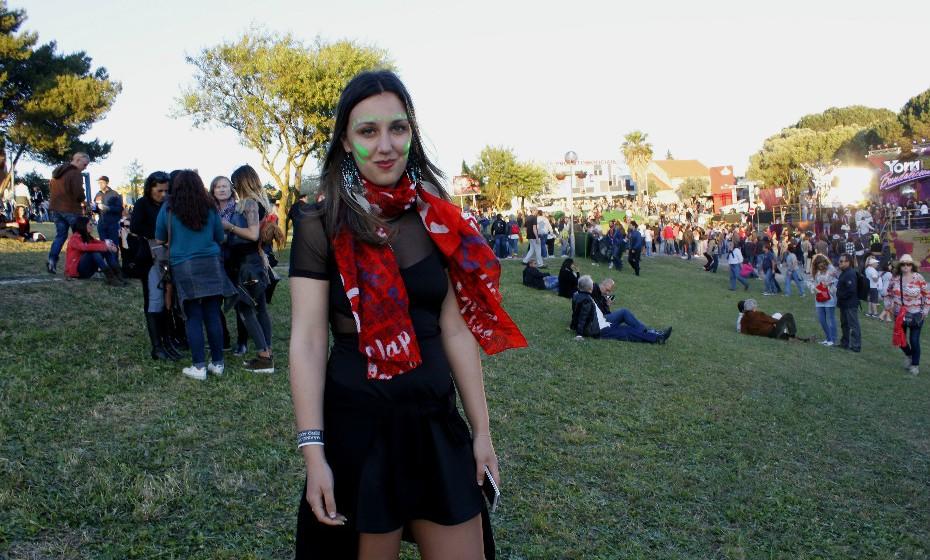 Eliana Santos, 29 anos, também aderiu ao movimento ecológico.