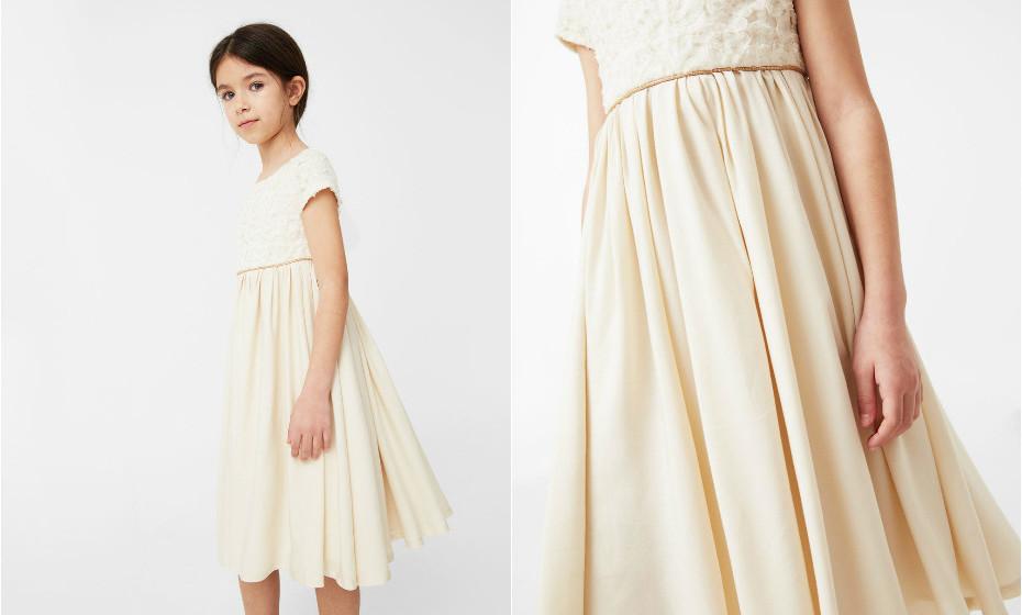 Vestido da Mango ideal para um casamento mais elegante.