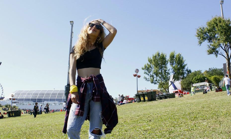 Margarida Runa, 18 anos, veio ao Rock in Rio para ver Stereophonics.