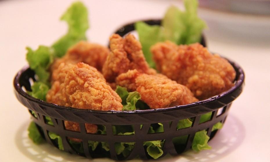 6. Frango frito crocante