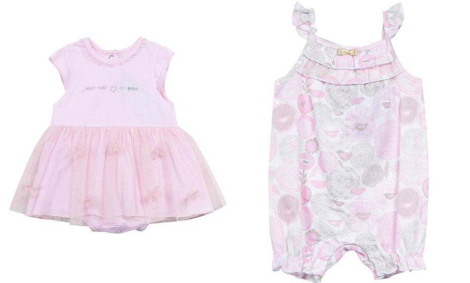 Sugestões para bebé menina da 3Pommes.