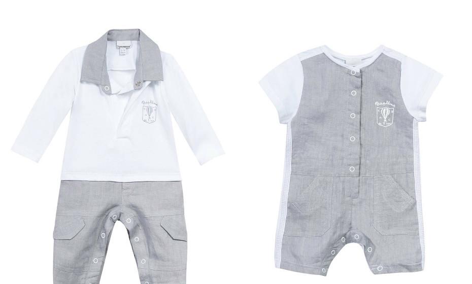 Sugestões para bebé menino da 3Pommes.