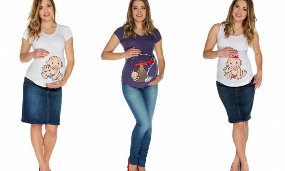 Diga lá se estas não são as t-shirts mais amorosas de sempre! Na imagem: My Tummy.