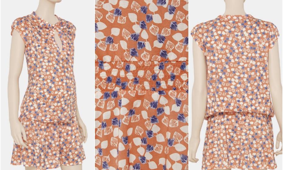 O verão é a altura certa para usar e abusar de padrões coloridos. O corte deste vestido da Pré Natal adapta-se na perfeição ao crescimento da barriguinha que vai crescendo e crescendo…