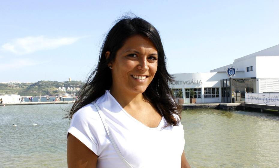 Raquel Rodrigues, 28, gosta de looks simples.