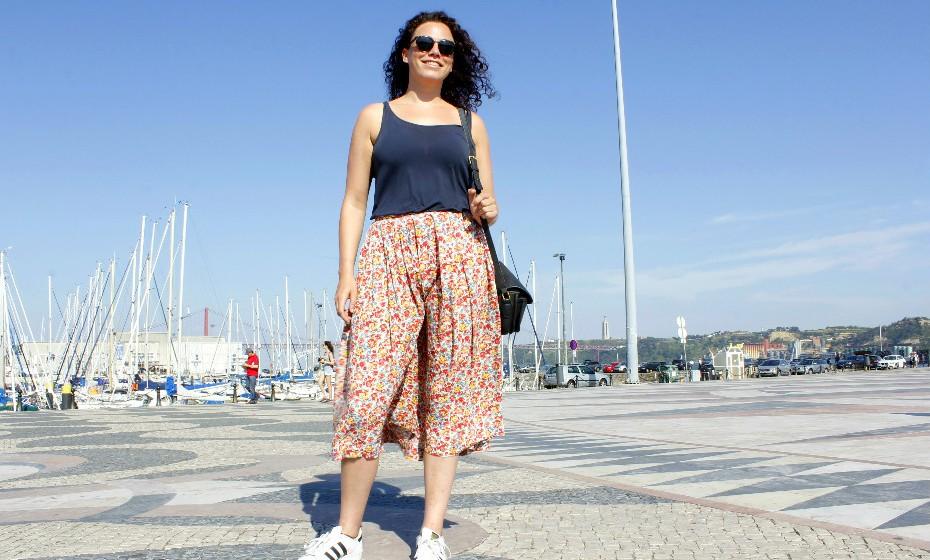 Quirine Winhler, 29 anos, Holanda, está de férias com o namorado em Lisboa.